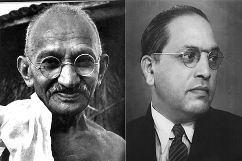 Ambedkar and Gandhi