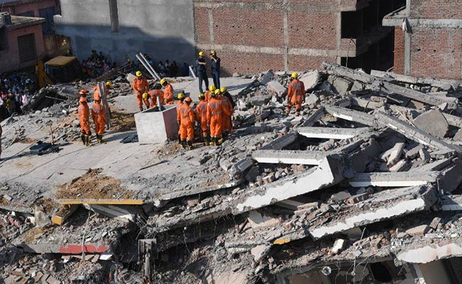 Greater Noida building collapse and real estate corruption