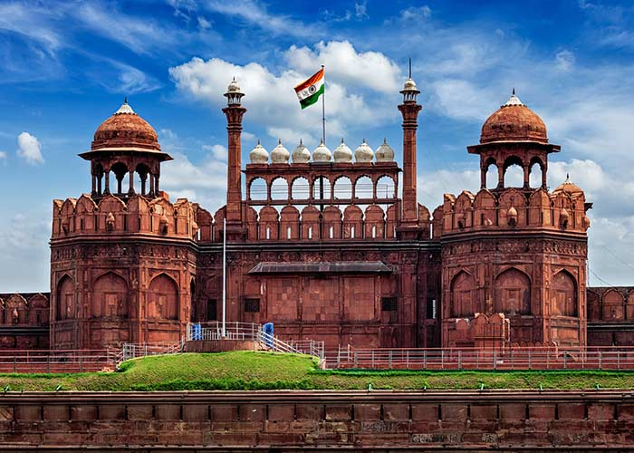 red fort up for adoption