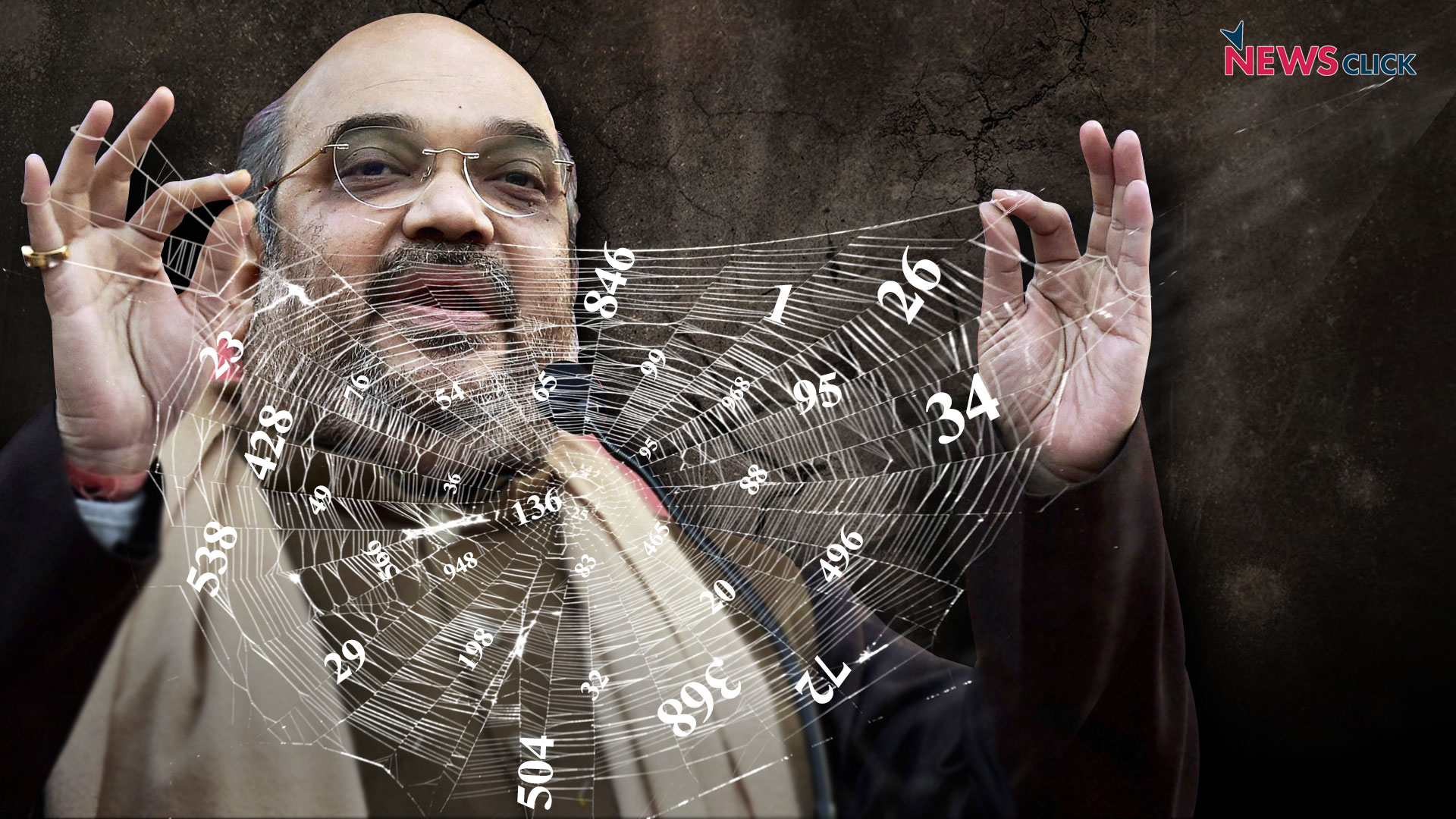 Amit Shah's web of lies