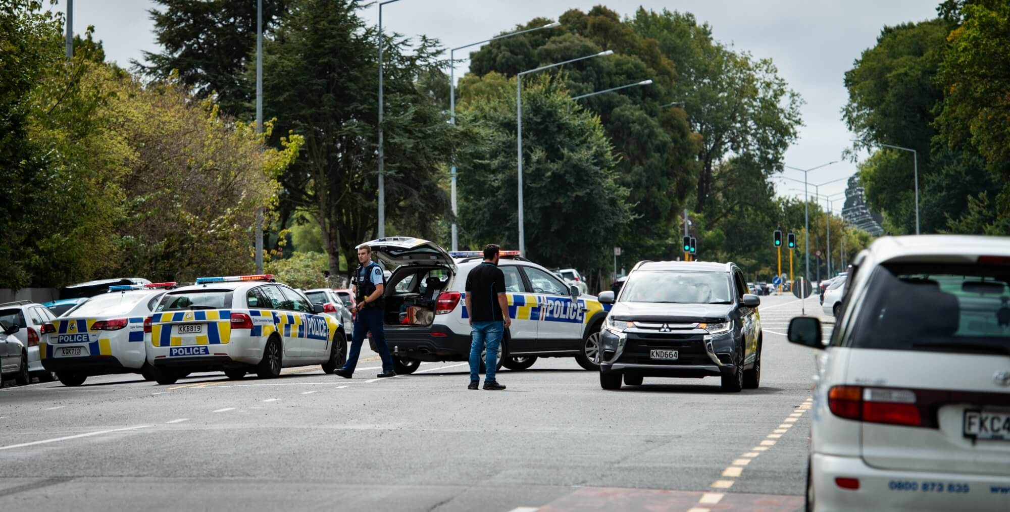 multiple shootings in the two mosques of New Zealand's Christchurch