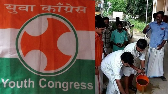 Kerala Youth Congress workers 'purify' spot where Dalit MLA held a sit-in protest