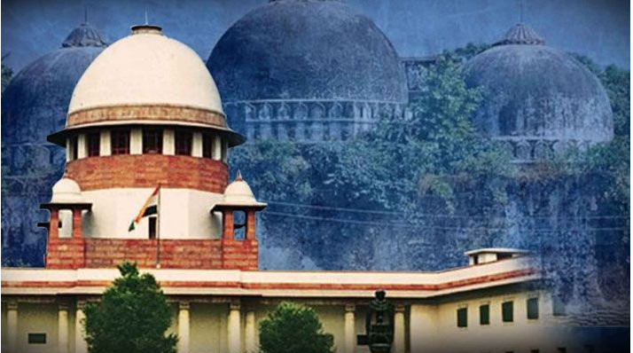 babri masjid and SC