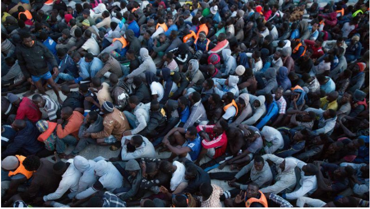 african migrants in europe