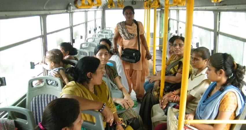 free bus for women