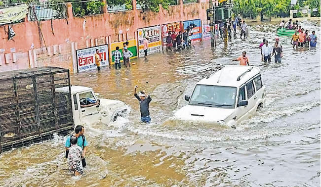 patna water logging