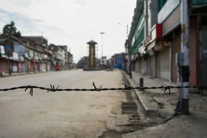 Kashmir restrictions