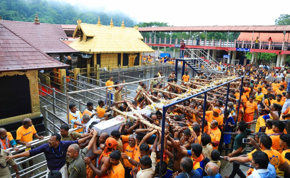 sabrimala issue