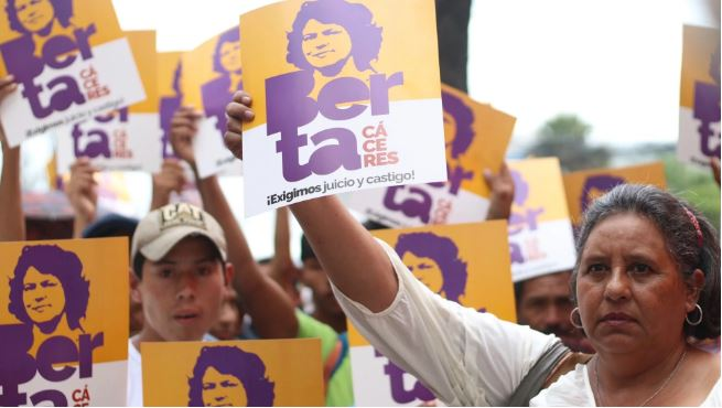 Justice for Berta Cáceres