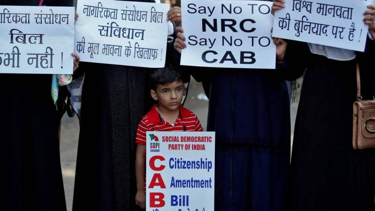 protest against CAA NRC