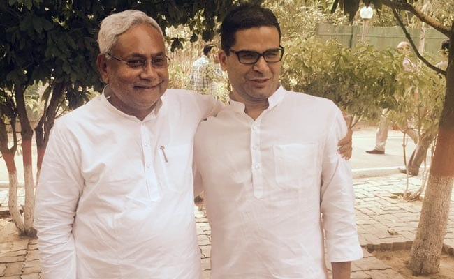 Prashant kishor and Nitish Kumar