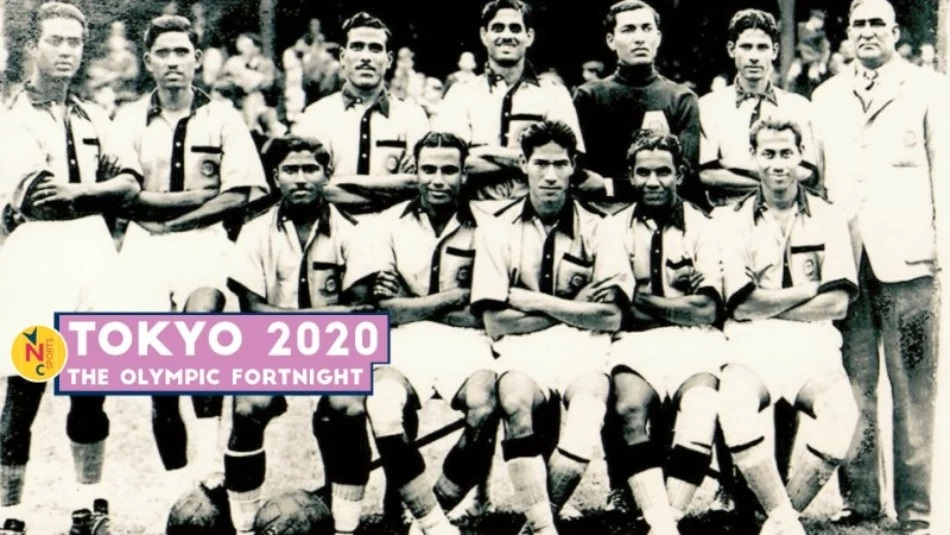 1948 London Olympics Indian football team