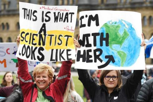 (Image Courtesy: March For Science UK)