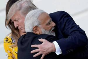 Modi-Trump (File Photo)