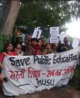 jnu all india protest