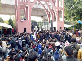 jamia protest against CAB