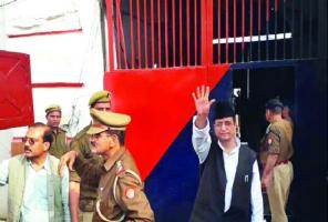 Azam, his wife and son sent to Sitapur jail