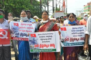 Andhra: Workers