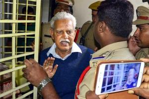 varavara rao in jail